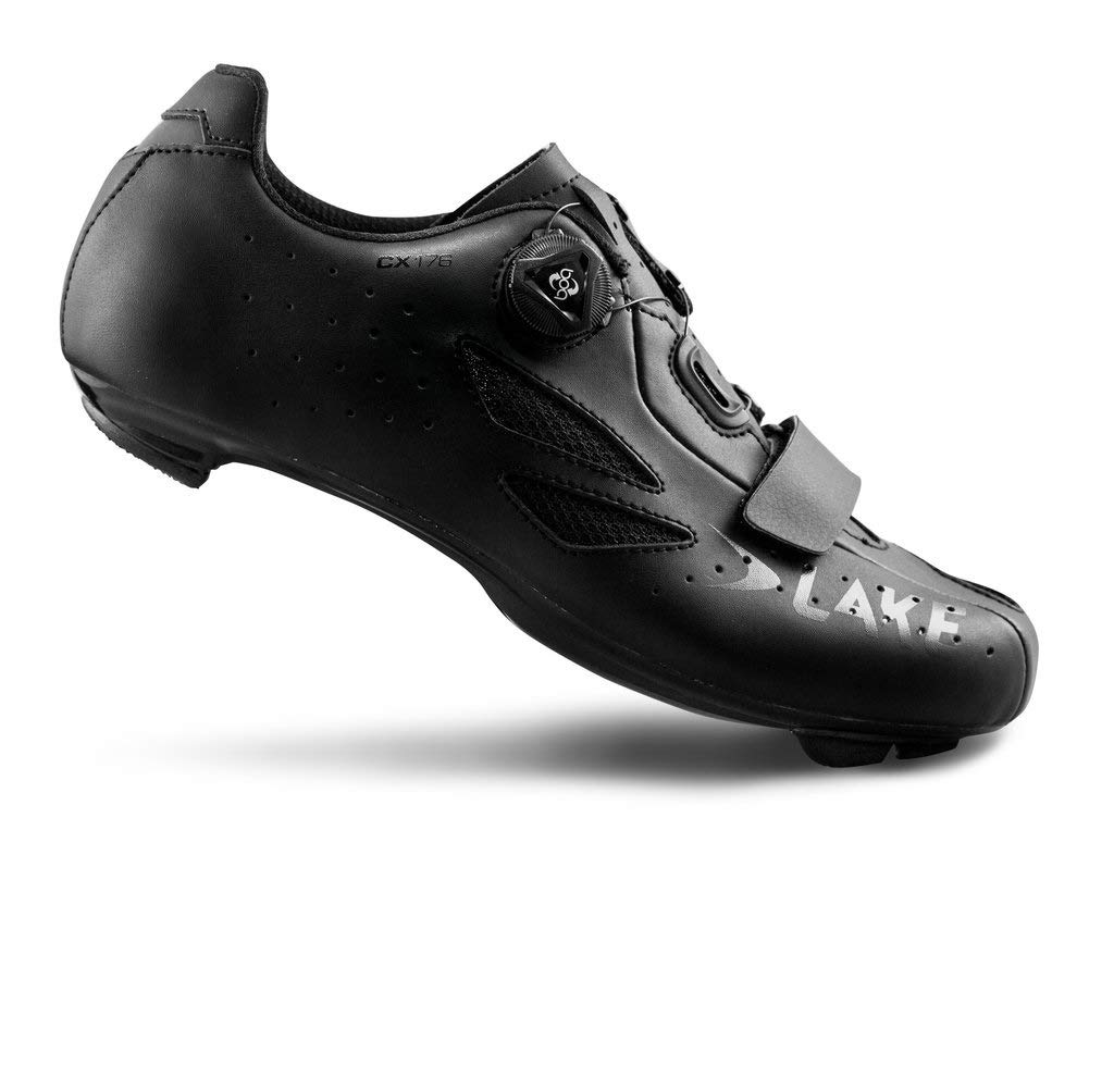 Lake Cycling CX176-X Wide Road Cycling Shoes Mens