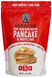 #9: Lakanto Low Carb, 6 Net Carb, Gluten-free, Pancake Mix | Original 1 Pound