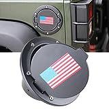 Automotive : Fuel Filler Door Cover Gas Tank Cap for 2007-2017 Jeep Wrangler JK & Unlimited 4-Door 2-Door