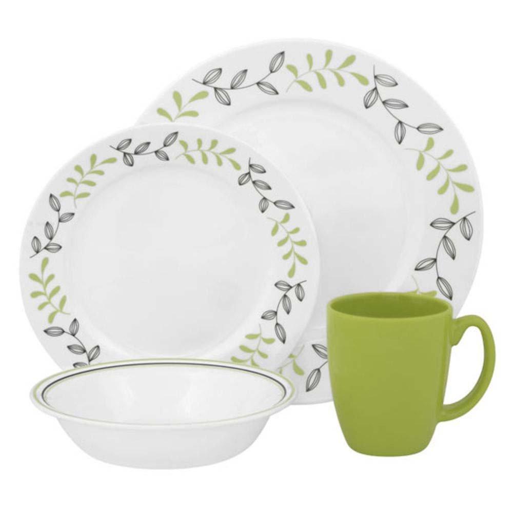 Amazon.com   Corelle 1094766 Garden Sketch Set (16 Piece): Dinnerware Sets:  Dinnerware Sets