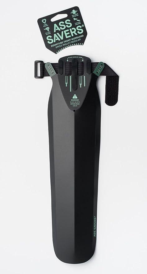 Noir Ass Savers ASR-1-BLK Garde-Boue de v/élo Mixte Normal