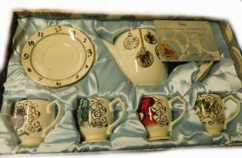 Original Tea Set from Alice in the Wonderland behind the mirrors disney by Alice in the Wonderland