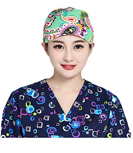 - Nothar Women's and Men's Scrub Cap Scrub Hat One Size Multiple Color