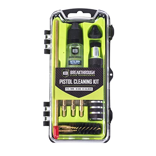 Breakthrough Clean Technologies Vision Series Pistol Cleaning Kit - 9mm /.40 /.45 Cal ()