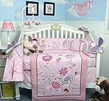 SoHo Happy Fairy World Baby Crib Nursery Bedding Set 14 pcs included Diaper Bag Set Reviews