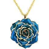Change Color Necklace Heart Necklace Woman...