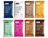 RXBAR Whole Food Protein Bars, Assorted Flavors Variety Pack Sampler by It's Variety (12 Count)