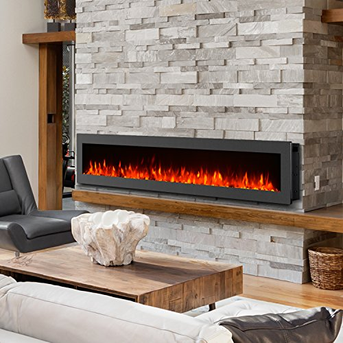 GMHome 60 Electric Fireplace Wall Mounted