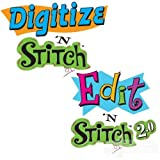 Amazing Designs Digitize 'N Stitch & Edit 'N Stitch Software