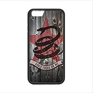 Apple iphone 6 4.7 TPU (Laser Technology) Case, Cell Phone Cover Protective Apple iphone 6 4.7 Case Gadsden Don't Tread On Me Flag by ruishername