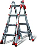 #3: Little Giant 17-Foot Velocity Multi-Use Ladder, 300-Pound Duty Rating, 15417-001