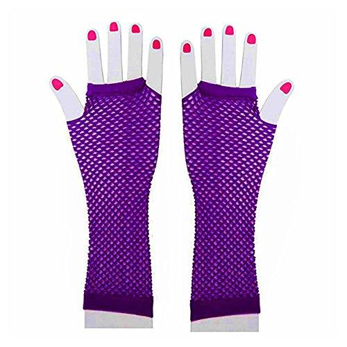 80s purple dress - 8