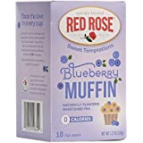 Red Rose Sweet Temptations Naturally Flavored Sweetened Tea (0 Calories) 18 Tea bags (