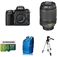 Nikon D750 FX-Format DSLR Camera with 18-140mm Lens AmazonBasics Accessory Bundle