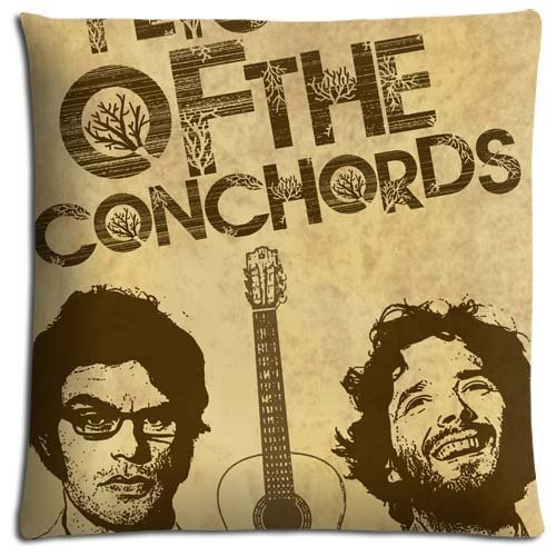 18x18 inch 45x45 cm bench pillow cases Polyester * Cotton Elegant graceful Flight of the Conchords