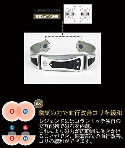 New Colantotte Magtitan NEO Legend Bracelet Size M Avengers Iron Man Japan