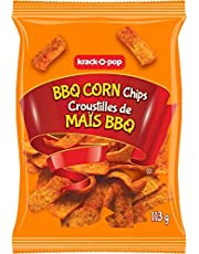 Krack-O-Pop BBQ Corn Chips, 113 Grams