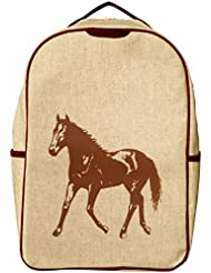 SoYoung Grade School Backpack - Brown Horse