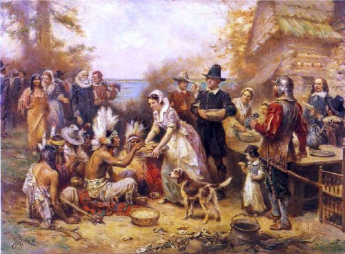 Jean-Leon Gerome Ferris The First Thanksgiving