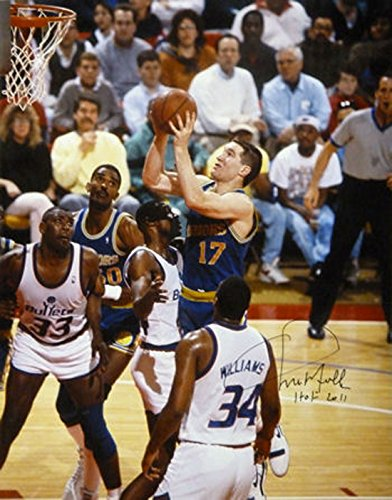 d27348377462 Chris Mullin Autographed Golden State Warriors 16x20 Photo HOF at ...