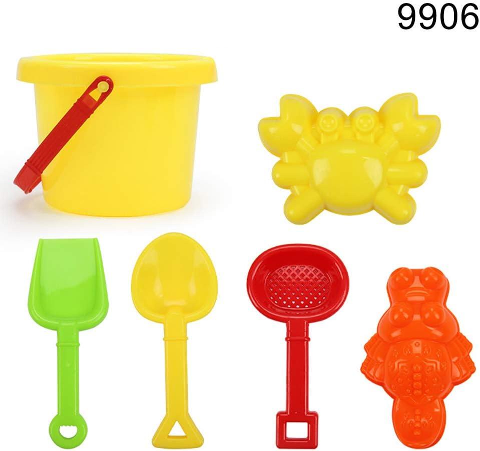 Catkoo Kids Beach Set Cartoon Mold Bucket Castle Building Sand Tools Pool Sandbox Toy Entrenamiento Perfecto Regalos De Inteligencia para Ni/ños 9906#