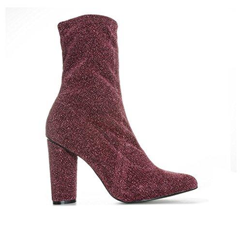 Glamorous Ankle Femme Glamorous Boots Ankle Femme Glamorous Rouge Boots Ankle Rouge Boots Glamorous Rouge Femme q1Svav