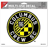 "SOCCER Columbus Crew SC Multi-Use Colored Decal, 5"" x 6"""