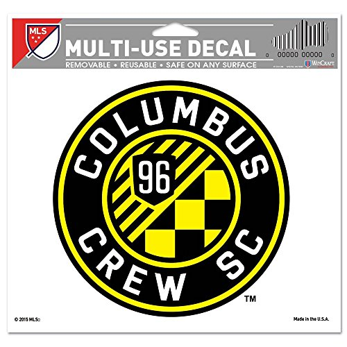 fan products of SOCCER Columbus Crew SC Multi-Use Colored Decal, 5