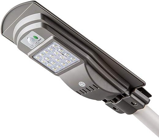Galapara Focos LED Solar Exterior Lámparas Solares Farola Jardín Ultra Brillante, 40 Leds 20W 40W 60W 500lm Impermeable IP65 de Iluminación y Sensor de Movimiento para Patio Balcón Porche Calzada: Amazon.es: Hogar