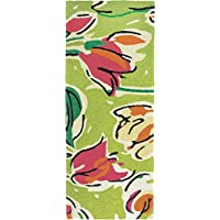 Jellybean Tulip Ensemble Indoor/Outdoor Rug 21 X 54