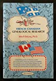 img - for French-Canadian genealogical research book / textbook / text book