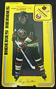 1975/76 Carlton Craft New York Islanders Hockey Heroes Stand-Up Bryan Trottier