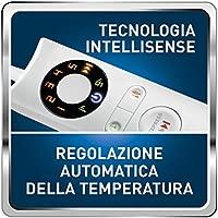Imetec Intellisense manta eléctrica individual de 150 x 90 cm, manta eléctrica con tecnología Intellisense, microfibra suave bicolor reversible, puede ...