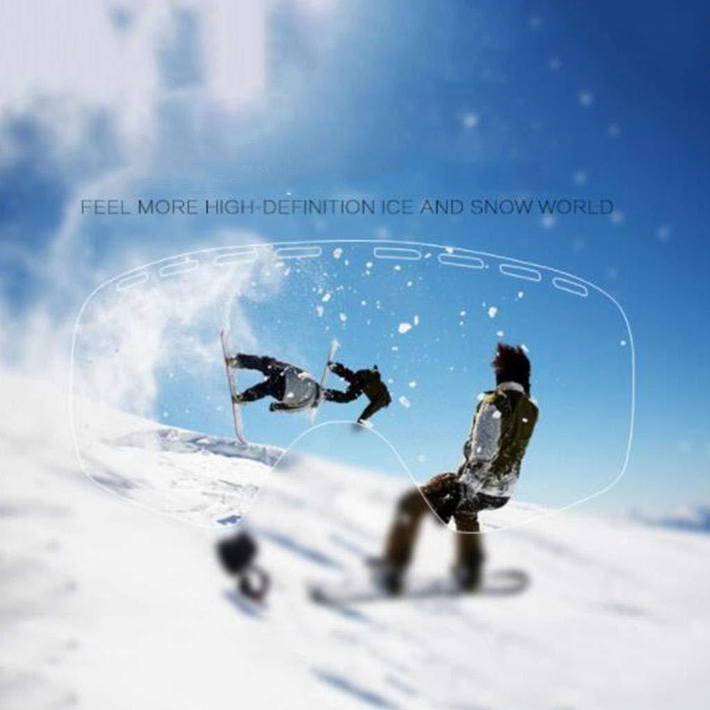 Skifahren Skibrillen Skibrille für Männer und und und Frauen. Skibrille für Jugendliche und Jugendliche. Große Anti-Fog-HD-Bergsteiger-Windschutzscheibe (Farbe   Blau, Größe   14  9.2cm) B07K2QVLZL Sonnenbrillen Wunderbar ec68b5