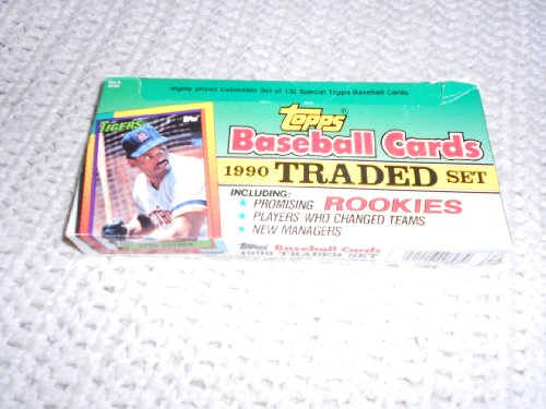 Traded Topps Factory - 1990 Topps Baseball Traded Retail Factory Set