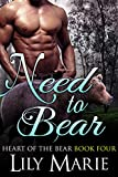 download ebook need to bear (heart of the bear book 4) pdf epub