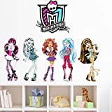 Monster High DIY Removable Art Vinyl Quote Wall Sticker Decal Mural Home Room D¨¦cor