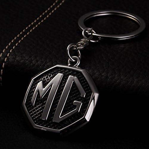 MG Motor Official Badge Logo Keyring Green//Black//Blue//RedKeychain Keyring