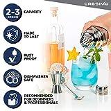 Cresimo 24 Ounce Cocktail Shaker Bar Set with
