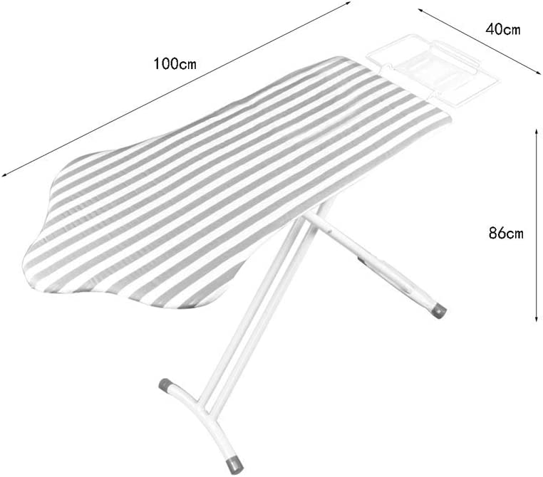 XuQinQin Planche à repasser, Planche à repasser Planche à repasser pliante grande table à repasser réglable en hauteur planche a repasser (Color : B) C