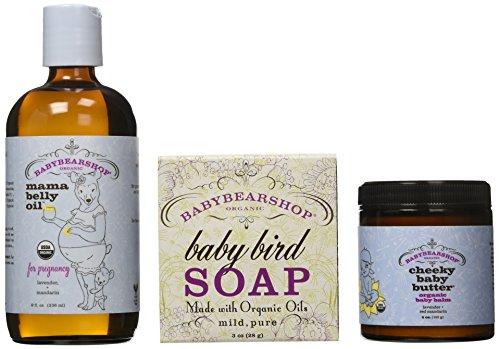 Cheeky Baby Butter - BabyBearShop Mama Plus Baby Daily Indulgence Set, 15 Ounce