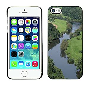 Hot Style Cell Phone PC Hard Case Cover // M00112112 Wye Forest Of Dean Forest // Apple iPhone 5 5S 5G