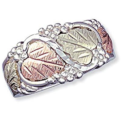 nice Black Hills Silver Womens Wedding Ring from Landstrom for cheap