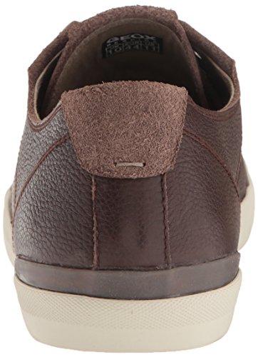 Geox Menns M Smart 74 Mote Sneaker Sjokolade