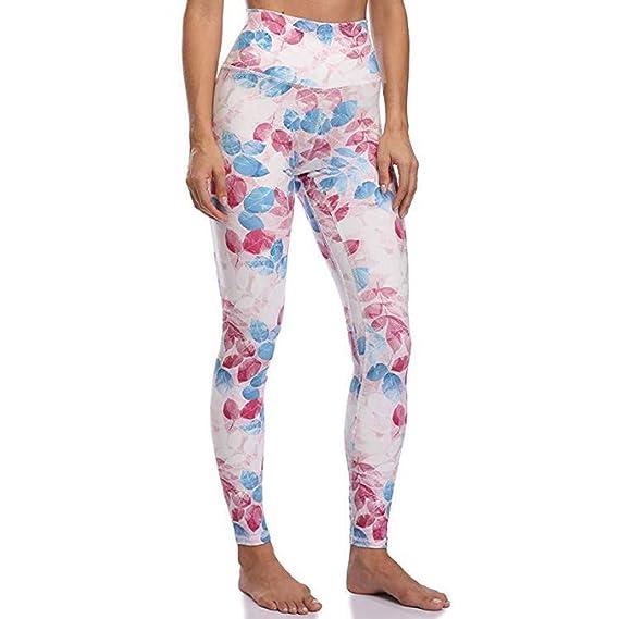 Lunule Mujer Pantalones Deportivos de Cintura Alta Fitness ...
