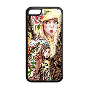 For SamSung Note 3 Phone Case Cover Cute Tattoed Girl Hard Hard Cover For SamSung Note 3 Phone Case Cover