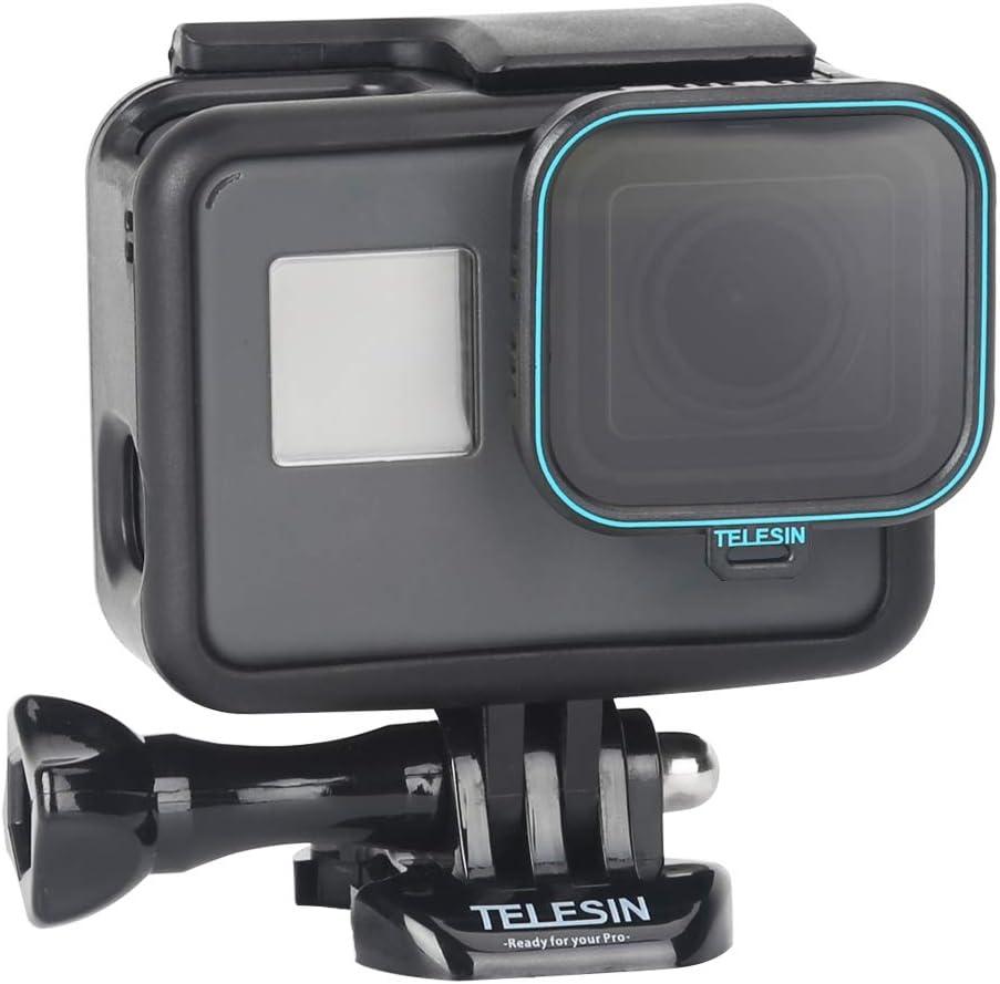 Amazon Com Telesin Cpl Camera Lens Polarizing Filter For Gopro Hero 7 Black Hero 2018 Hero 6 Hero 5 Black Lens Protector Circular Polarizer For Gopro Hero Accessories 1 X Cpl Camera Photo
