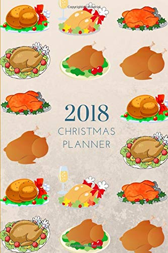 2018 Christmas Kids Planner Journal: Small Mini 3 Month Calendar To Fit Purse & Pocket; Monthly & Weekly Tracker With Inspirational Quote; Notebook With Bucket List & Xmas Party -