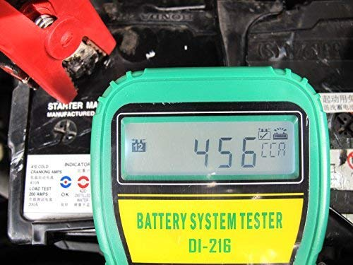 DLG DI-216 Automotive Battery Tester Vehicle Car Battery System Analyzer Diagnostic Tool by DLG (Image #4)
