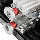 Mini Metal Lathe, 60W 12000 RPM Mini Wood Lathe